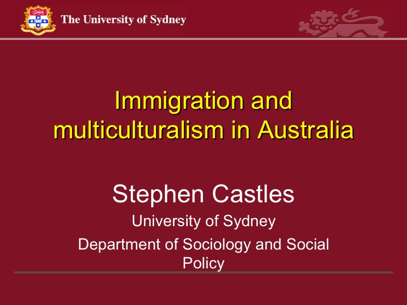 multiculturalism and immigration Multiculturalism and immigration in europe: synergy or controversy silvia mosneaga political construction of europe i dr beatriz pérez 14th of january 2011.
