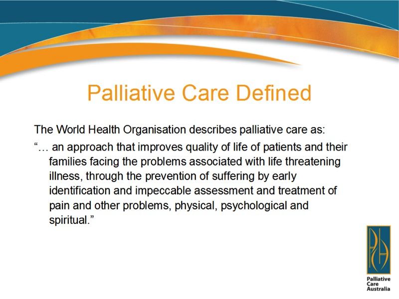 Forum 16 Palliative Care Slideshow Northside Forum