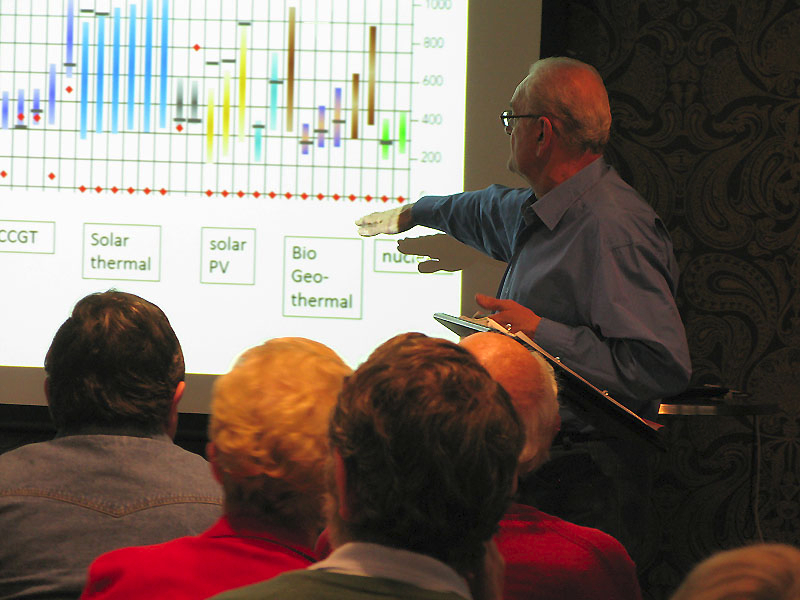 Tony Irwin\'s presentation on the advantages of nuclear energy