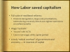 How Labor saved capitalism