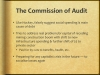 The commission of audit
