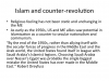 Islam & Counter-revolution