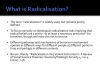 What is Radicalisation?