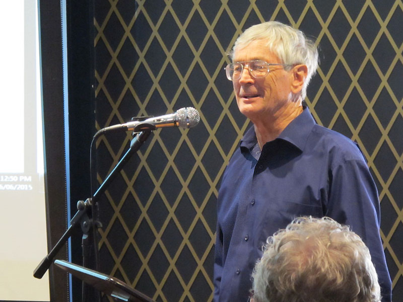Dick Smith's presentation